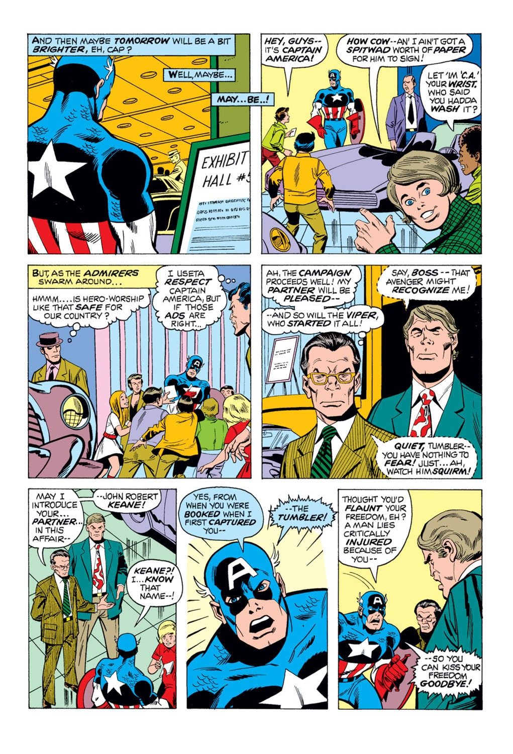 Captain America (1968) Issue #169 #83 - English 18