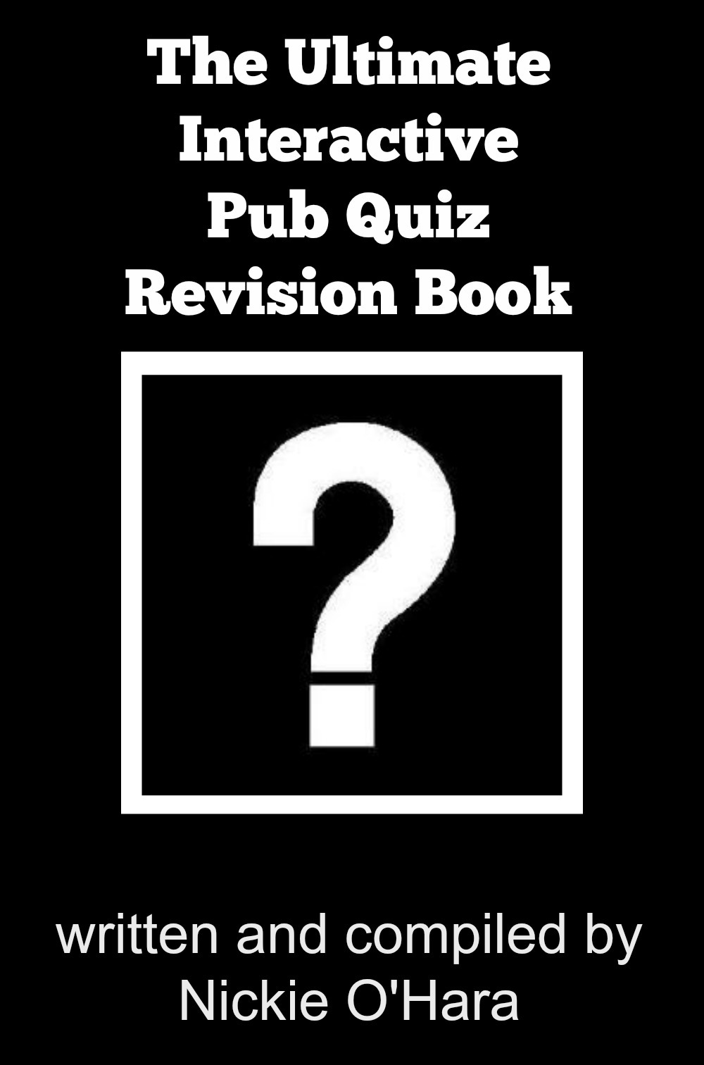 This Quiz Book That I Wrote Typecast