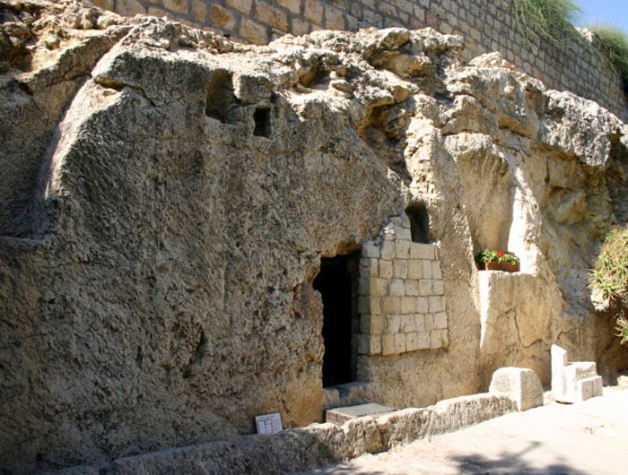 The Garden tomb. The Tomb of Jesus.