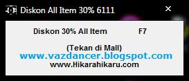 Cheat Hack Diskon 30% All Item AyoDance V6111