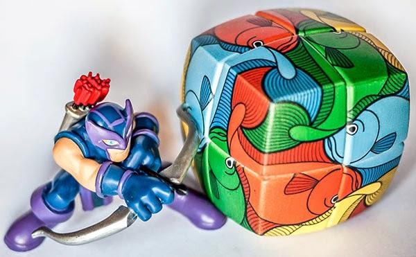 2x2x2 Rubik Escher Fish (v-cube)