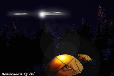 Recent Kananaskis UFO Sighting