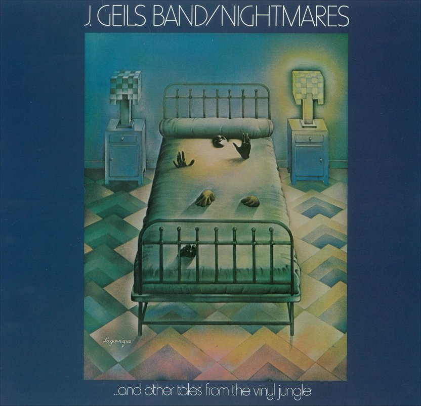 Rock On Vinyl: J. Geils Band - Nightmares...And Other Tales From The ...
