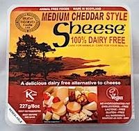 Scheese Vegan Cheese - Cheddar