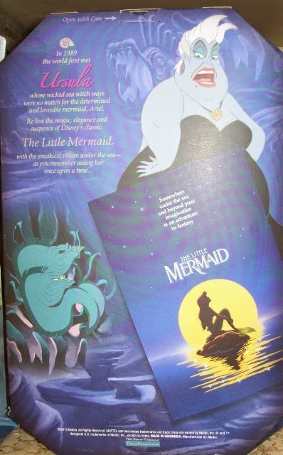 Disney Signature Collection Ursula box back