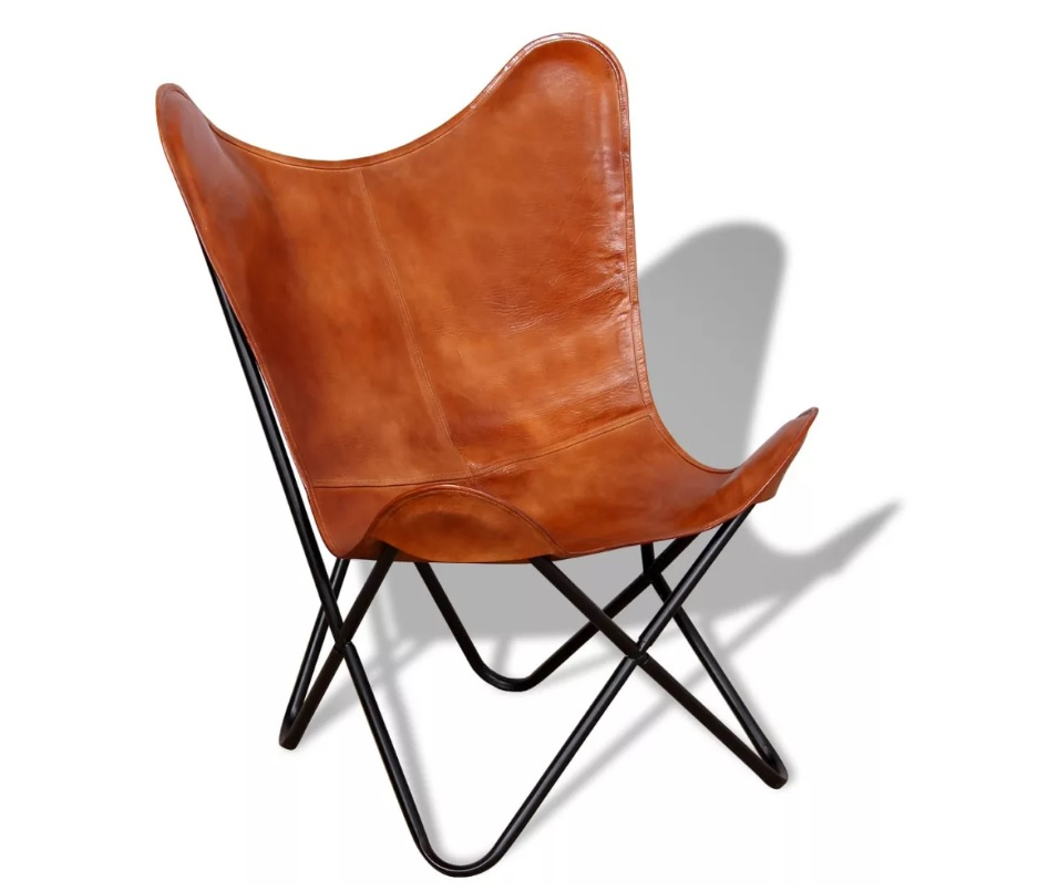 Fotel skórzany CARAMEL