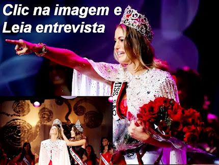 Bruna Michels cala a boca de muitos ao ser eleita Miss São Paulo 2013 e Miss Simpatia.