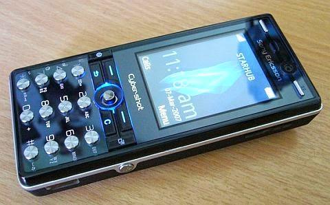 Sony Ericsson K810i giá 450K | Bán điện thoại 3G Chụp ảnh S.E K810i cũ giá rẻ tại Hà Nội