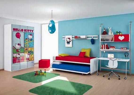 Model kamar rumah anak perempuan