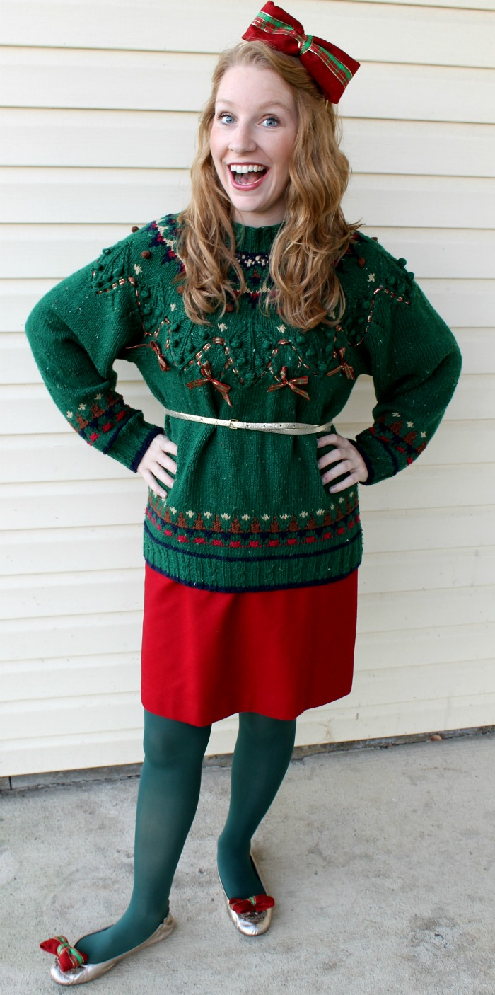 Christmas sweater outfits
