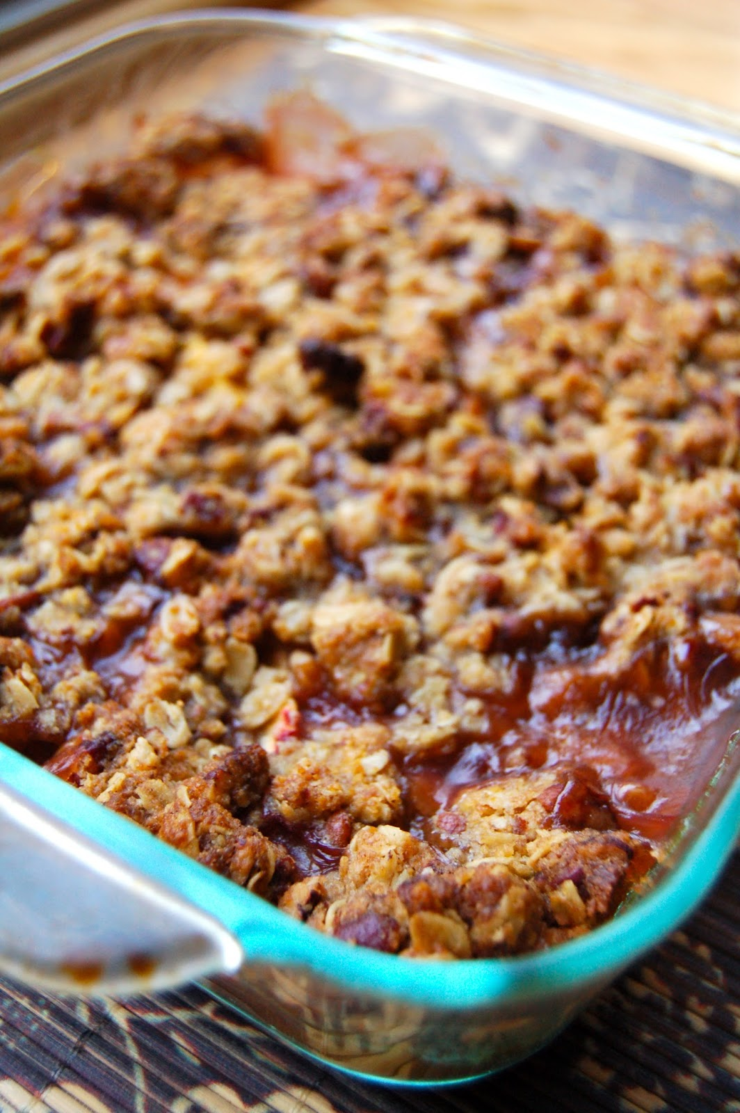 30/30 - #6 Peach Bourbon Crumble