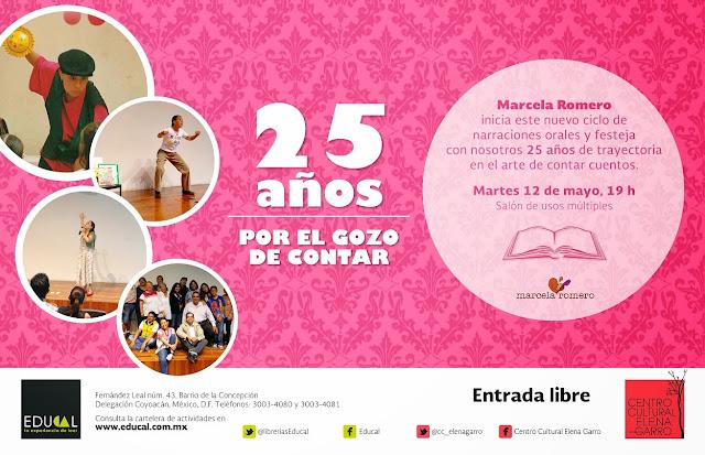 Narraciones orales para jóvenes y adultos en el Centro Cultural Elena Garro