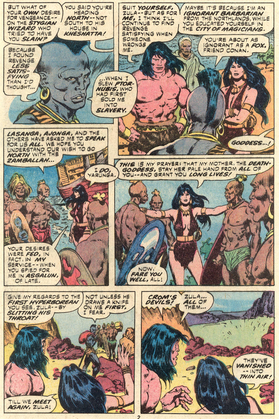 Conan the Barbarian (1970) Issue #94 #106 - English 3