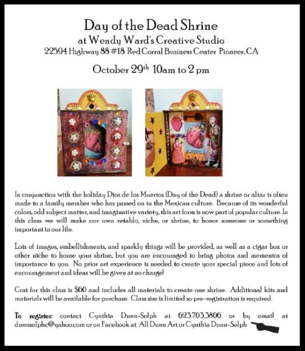 Art Workshop: Day of the Dead Shrine - Oct 29