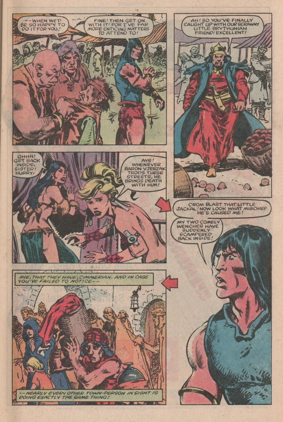 Conan the Barbarian (1970) Issue #155 #167 - English 4