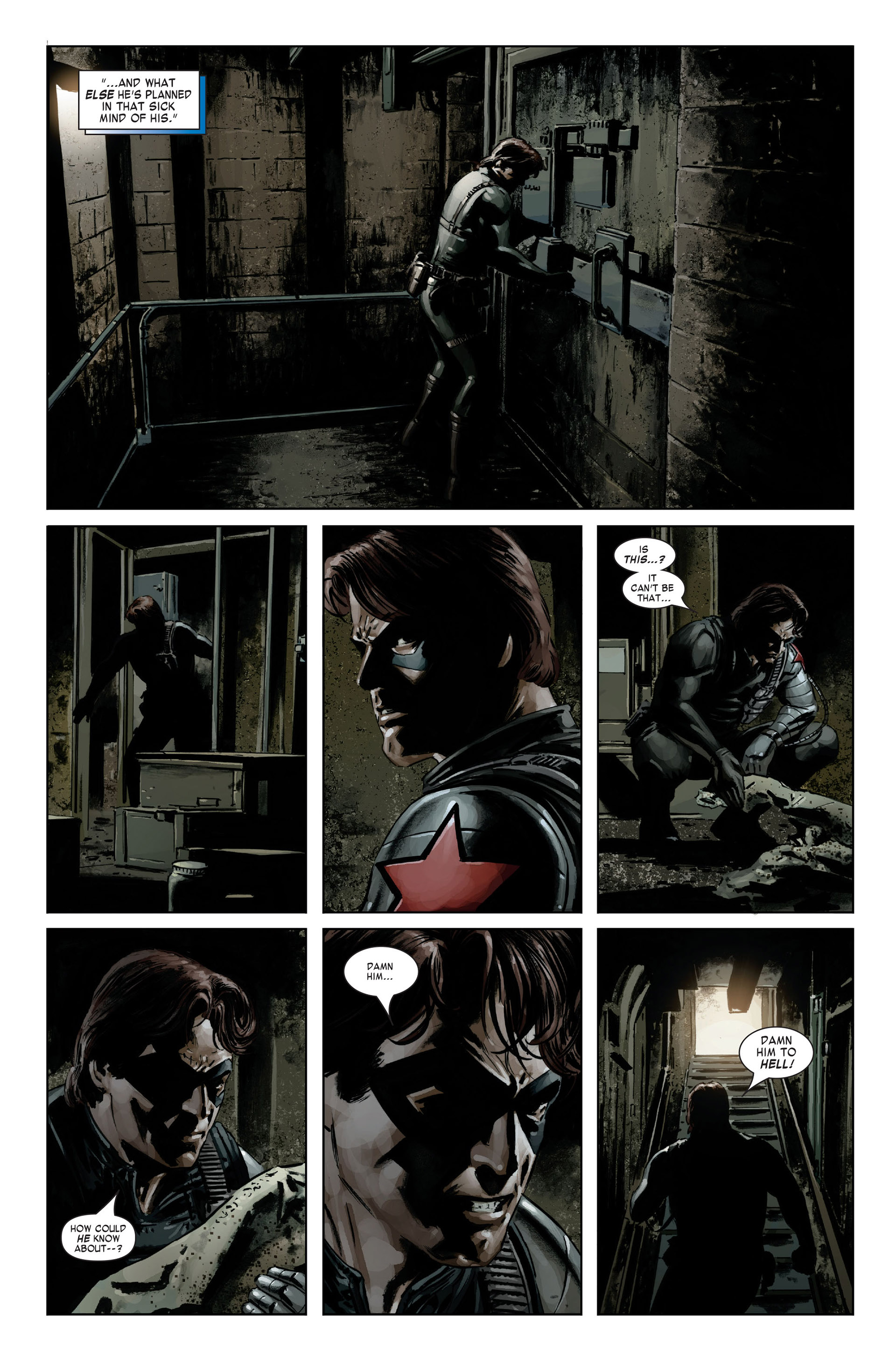 Captain America (2005) Issue #20 #20 - English 6