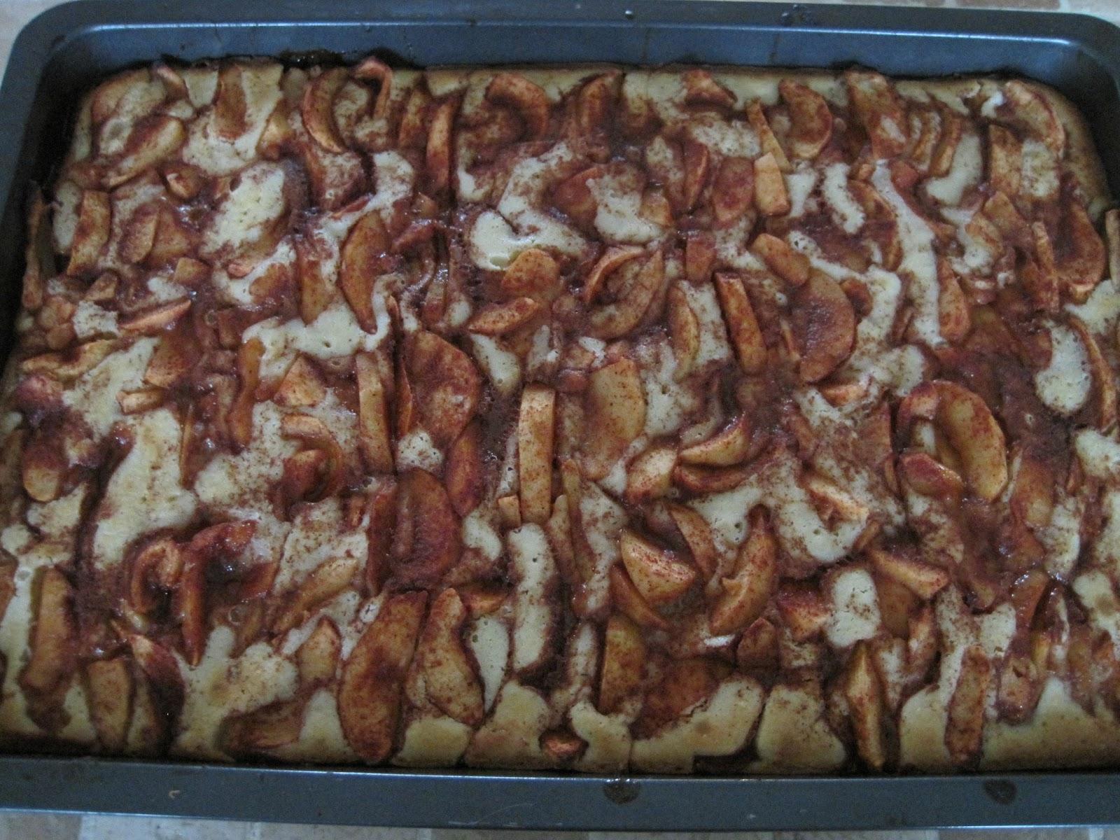 verdens bedste kage med æbler
