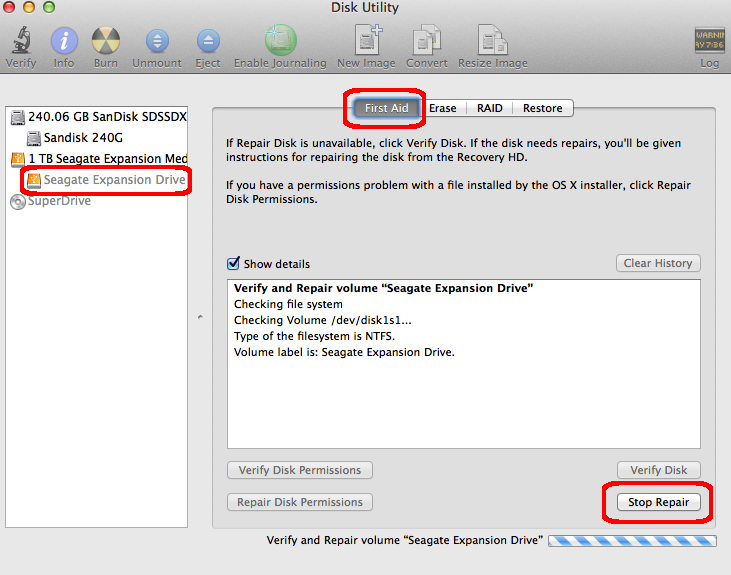 How to fix corrupted NTFS drive on Mac OS X | Hanxue and IT