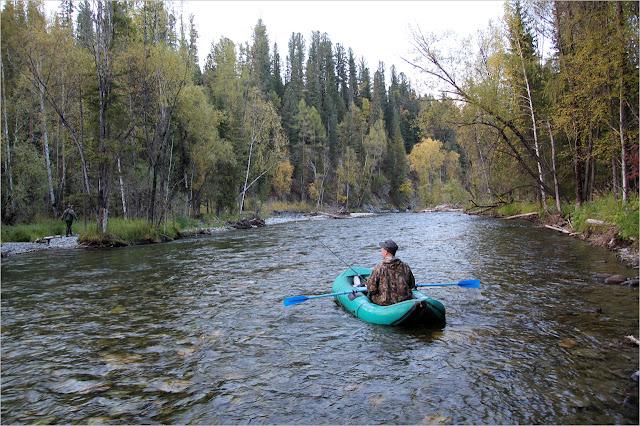 Рыбалка на реке Она.