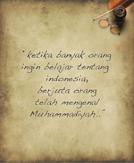 Muhammadiyah memiliki sejarah yang patut untuk dipelajari