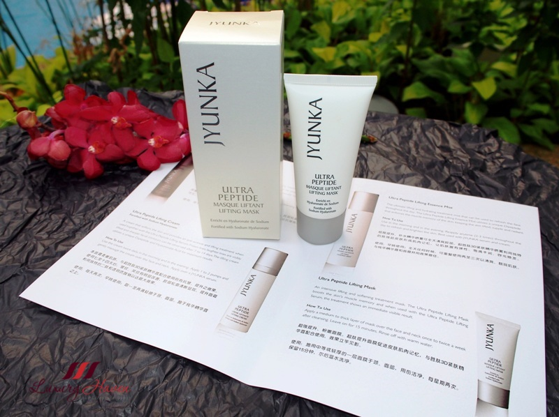 jyunka ultra peptide lifting mask review