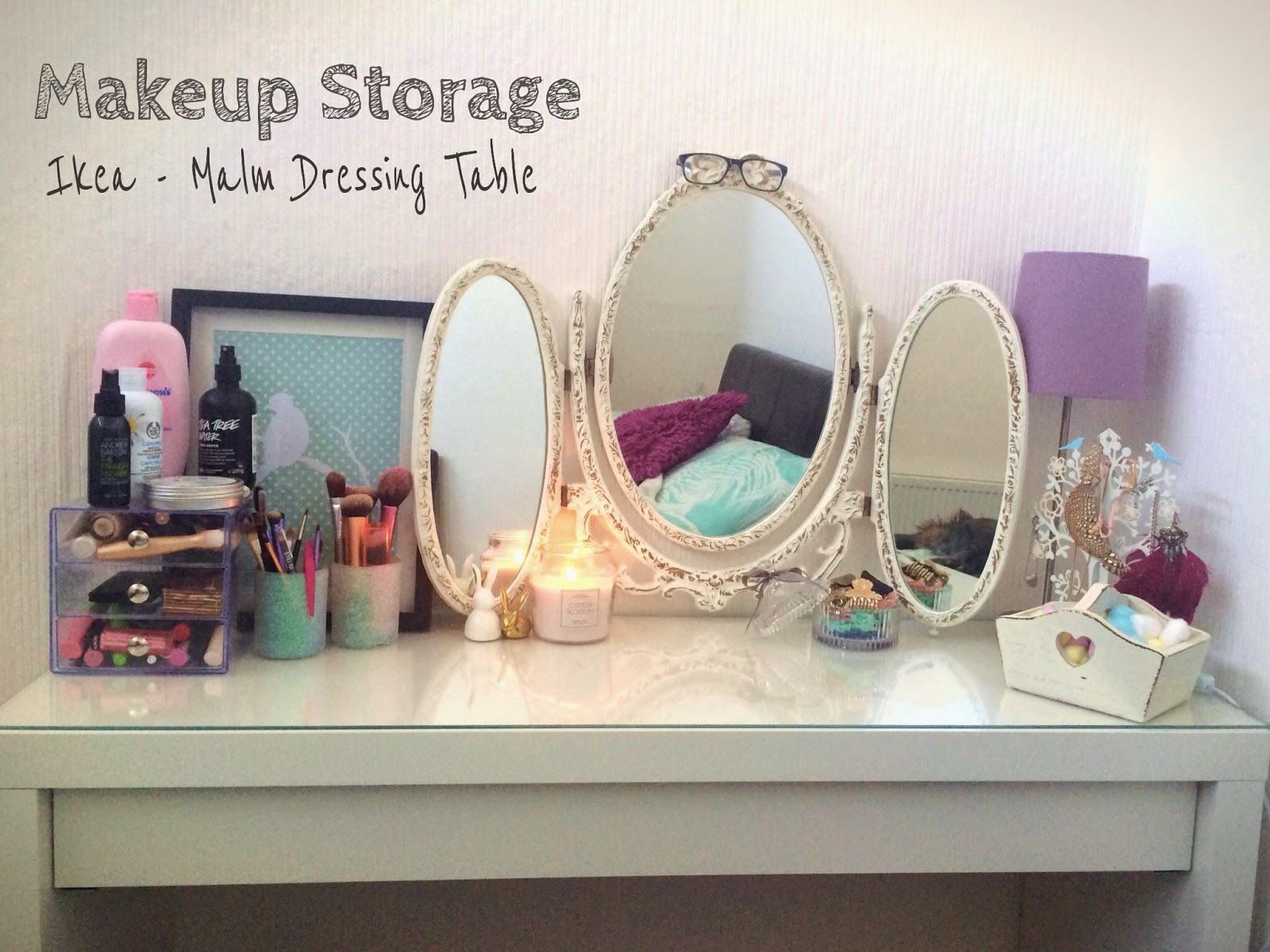 Ikea Patrull Safety Gate Reviews ~ Notes From September Makeup Storage  Ikea Malm Dressing Table
