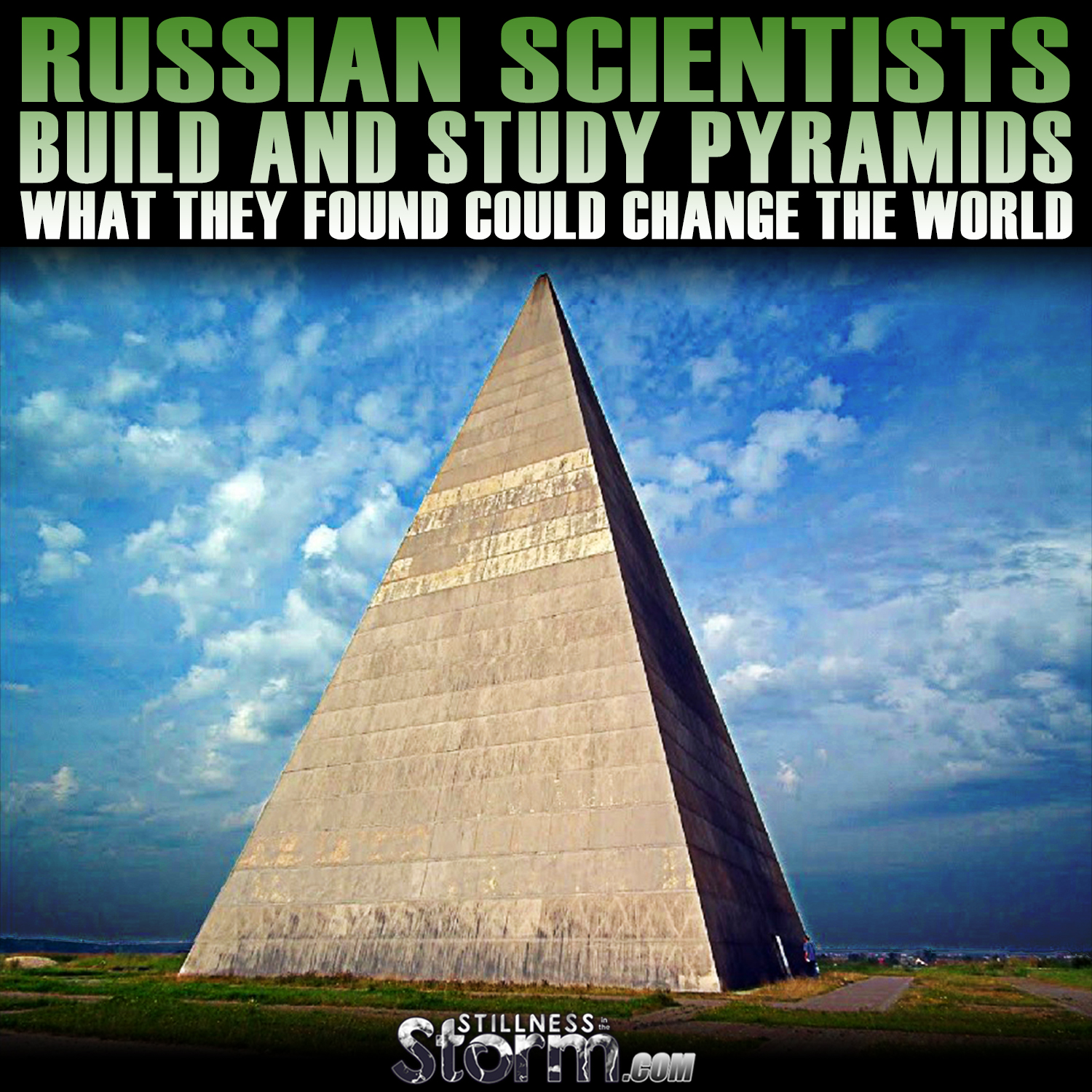 Russian Scientists Build And Study Pyramids | What They Found ...