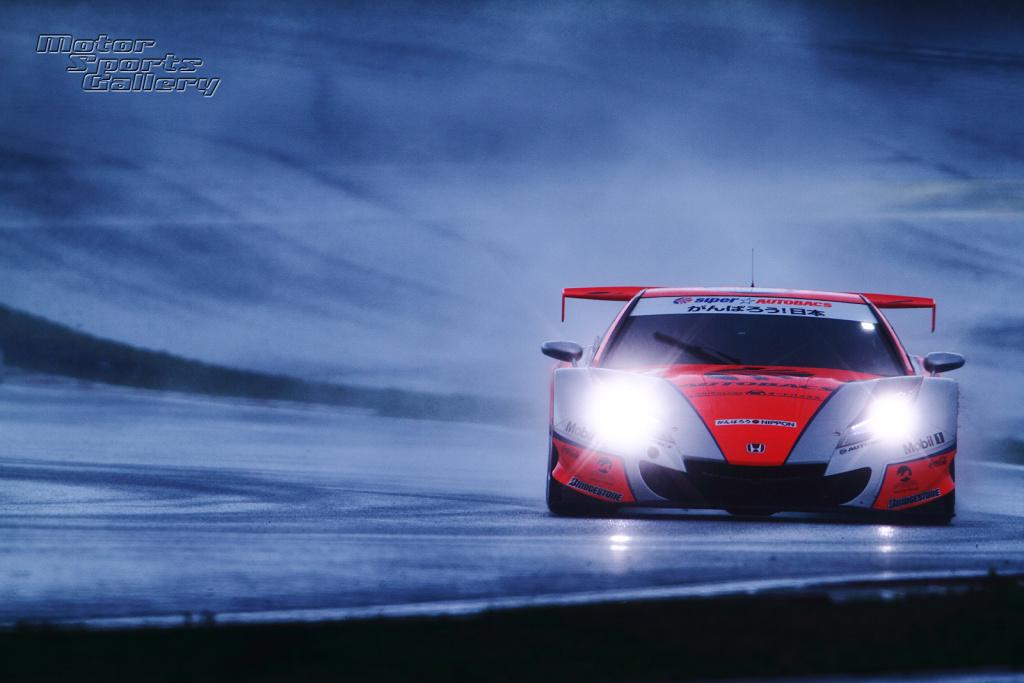 Super GT Honda NSX GT500 , japoński samochód, sportowy, wyścigi, racing, tor wyścigowy, racetrack, motoryzacja, auto, JDM, tuning, zdjęcia, pasja, adrenalina, kultowe, 自動車競技, スポーツカー, チューニングカー, 日本車