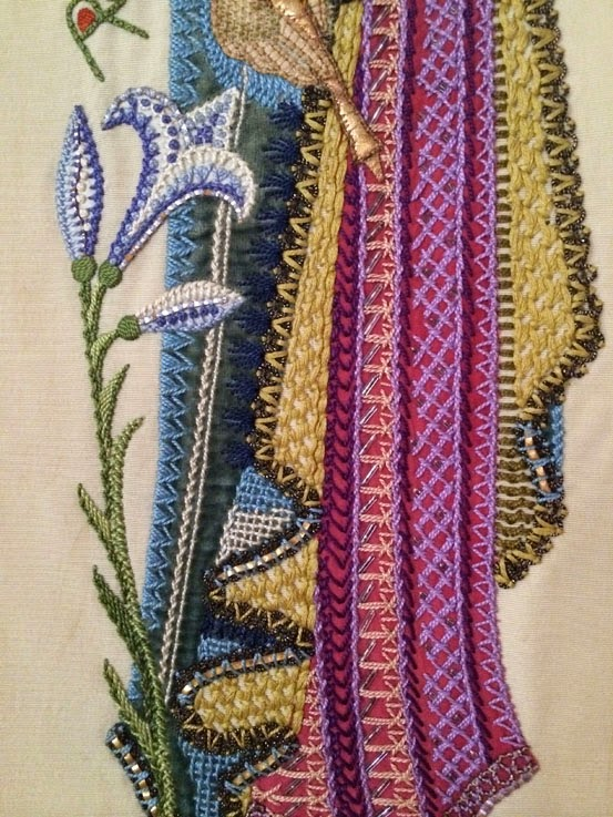 Materialistic Ecclesiastical Embroidery At St Lukes
