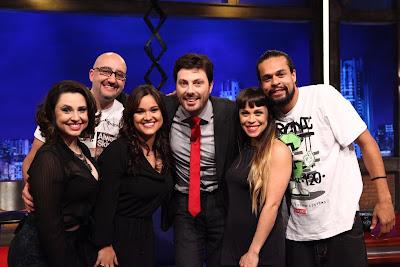 Francis, Felipe, Ana, Danilo, Gisele e Pierre (Crédito: Leonardo Nones/SBT)