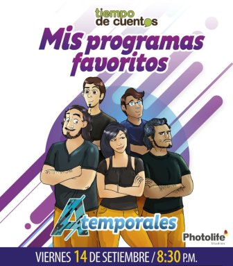 ATEMPORALES 2018
