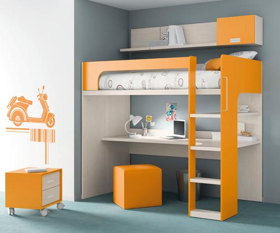 Muebles ros kids up 2 - Mueble infantil madrid ...
