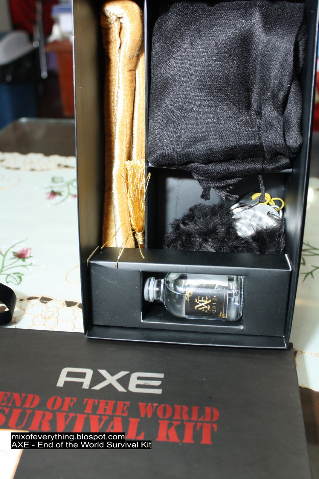 axe happy end of the world survival kit hello welcome to my blog
