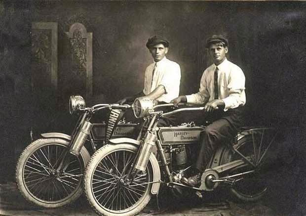 Los creadores de la Harley-Davidson