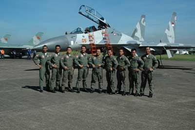 Pilot Pesawat Tempur Sukhoi TNI AU