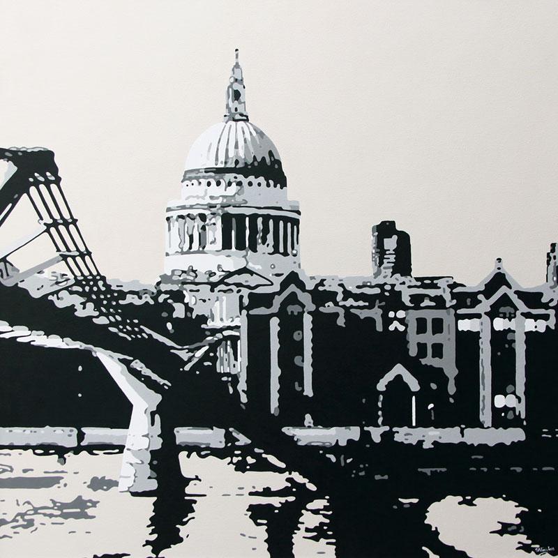 London urban painting