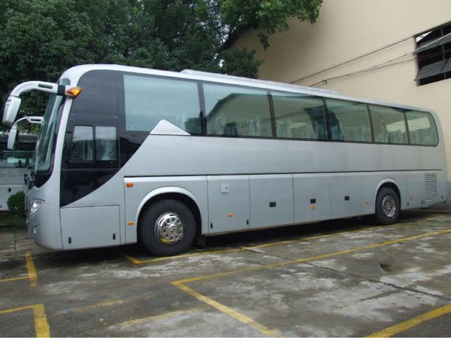 Cho thuê xe Daewoo GDW6121HK 35 chỗ