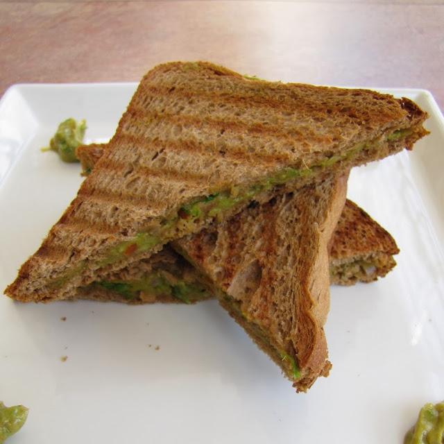 A Tasty And Healthy Avocado Sandwich