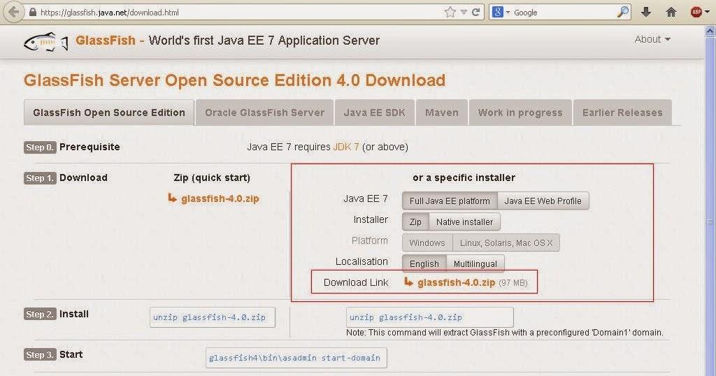 Learn java ee web application development