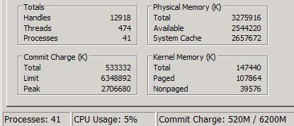 system cache windows