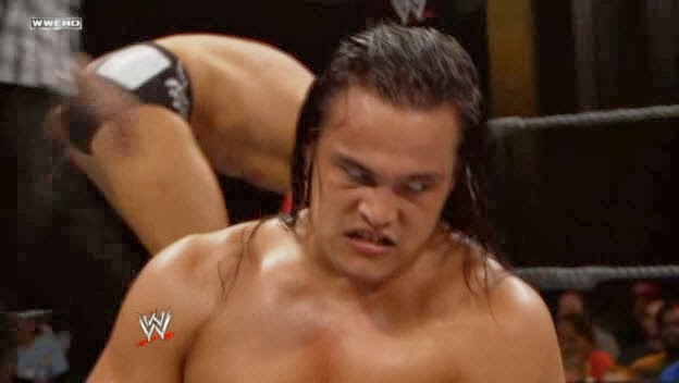 Bo Dallas ugly creepy face NXT wrestler Bodazzled