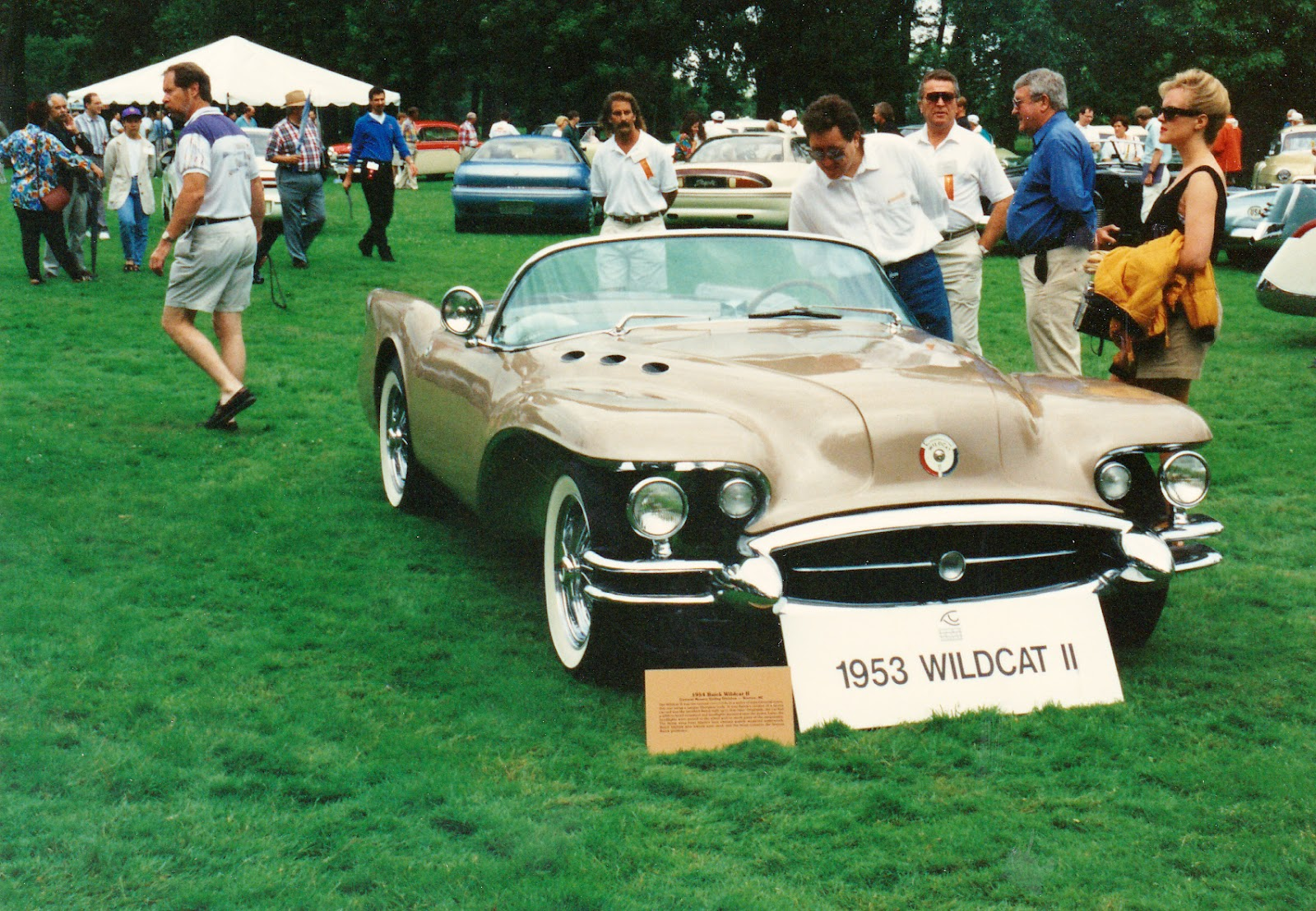 Reynolds Buick Gmc Blog Circle Of Dreams 1954 Wildcat Ii Concept The Was Built For 1953 Motorama