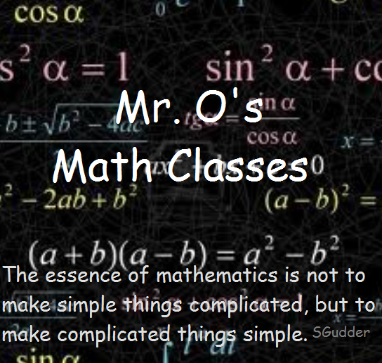 Mr.O's Classes