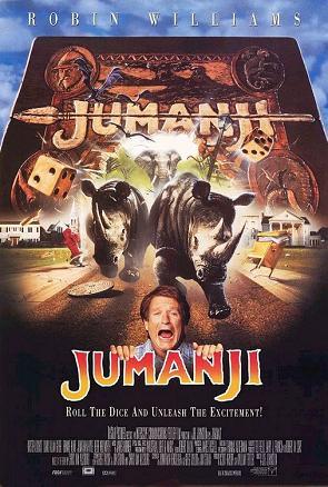 Trò Chơi Bí Ẩn - Jumanji (1995) Poster