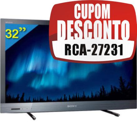 TV 32 LED Sony Interatividade Ginga