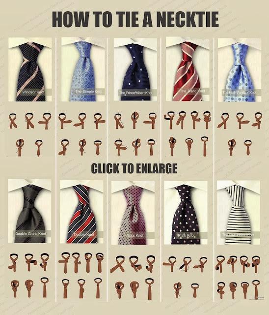 DIY Tie a necktie