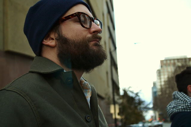 menswear, street style, beard, filson, forestry cloth cruiser
