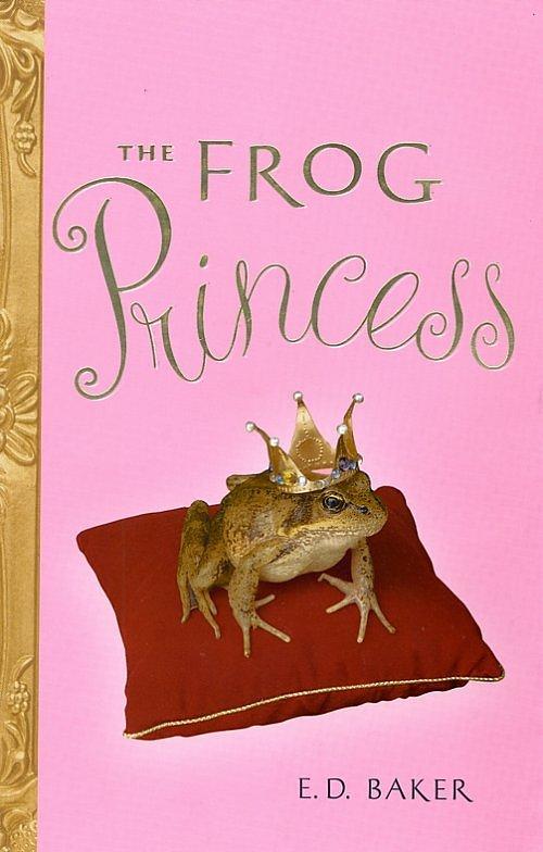 Book Snob E D Baker The Frog Princess The Princess Frog Book