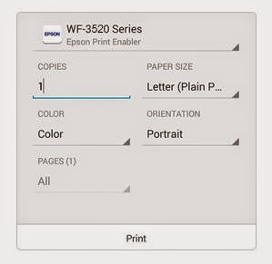 Print From Android Phone to Epson Printer