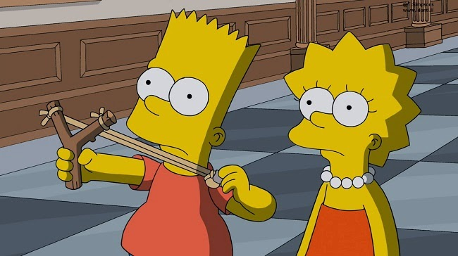 Los Simpsons- Capitulo 13 - Temporada 25 - Audio Latino - El Hombre que Creció Demasiado